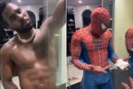 Jason Derulo se disfraza de Spider-Man y Twitter se llena de memes