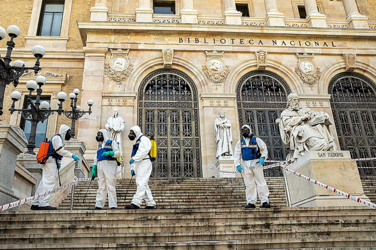 El plan de emergencia del Ejército y Cultura para salvar el patrimonio histórico