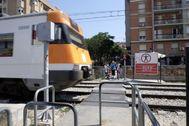 Estación de trenes de Sant Feliu de Llobregat.