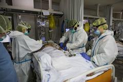 La zona de Reanimación Quirúgica de un hospital madrileño