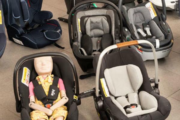 Solo dos sillas de 28 suspenden en la evaluación europea de sistemas de proteccion infantil