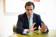 El presidente de la patronal CEOE, Antonio Garamendi, en una imagen de archivo.