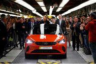 En febrero se inició la producción del Opel Corsa eléctrico en PSA Figueruelas.