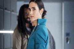 Jenniffer Connelly en 'Snowpiercer', de Netflix.