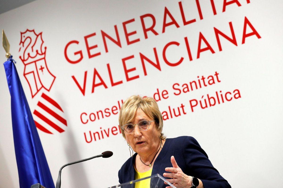 La consellera de Sanidad Ana Barceló.