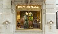 Uno de los escaparates de la nueva tienda de Dolce & Gabbana en Lisboa.
