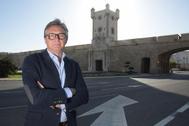 Manuel Gavira, en Cádiz, este martes.