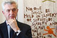 Filippo Grandi, Alto Comisionado de la ONU para los Refugiados.