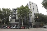 Bloque de viviendas en Barcelona.