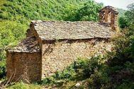 La iglesia románica está a punto de derrumbarse, según Hispania Nostra