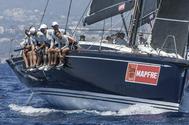 El barco con el que compite el Rey de España, Felipe VI.
