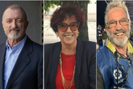 Arturo Pérez-Reverte, Maruja Torres y Dani Duch, premios Cavia, Luca de Tena y Mingote.