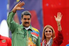 FILE PHOTO: Closing campaign rally of Nicolas Maduro