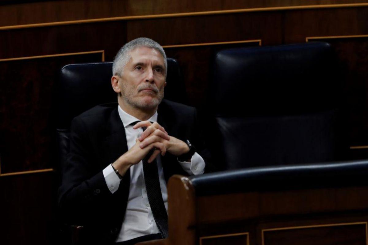 Vox presenta una iniciativa para reprobar a Marlaska y forzar al Congreso a exigir su destitución