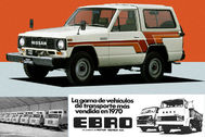 El Nissan Patrol 'catalán' de 1983 se exportaba a Japón bajo el nombre de Safari. Pero la historia de Motor Ibérica fue muy rica desde 1920