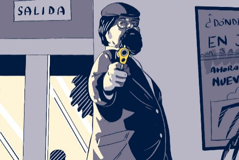 El Solitario, el 'supervillano' preso que hoy sirve comidas en el módulo 13