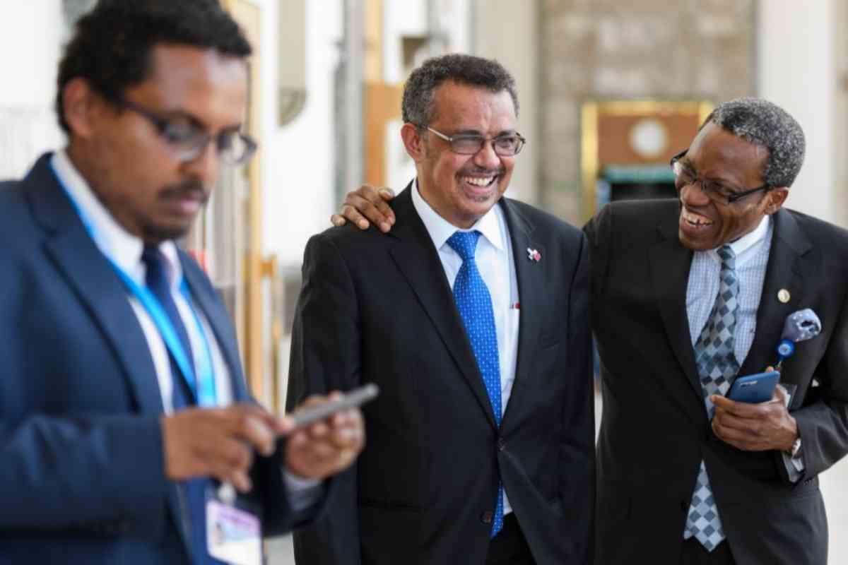 Tedros Adhanom Ghebreyesus, antes de ser nombrado director de la OMS.