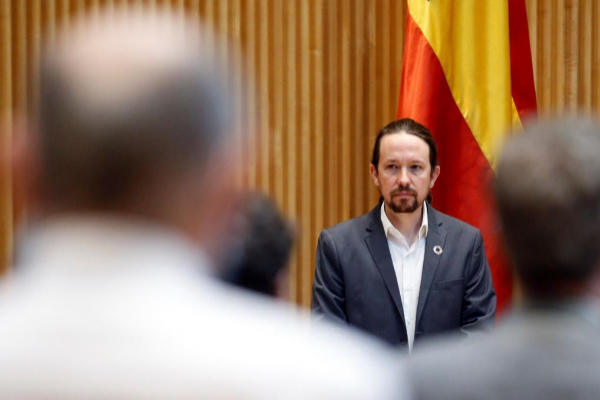 """Pablo Iglesias acusa a Vox de """"querer dar un golpe de Estado"""" pero """"no atreverse"""""""