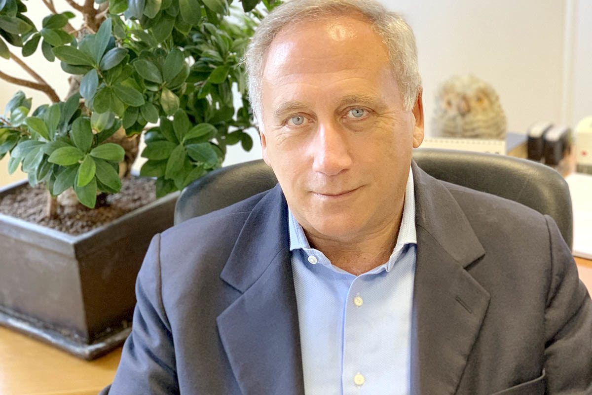 Arnaldo Caruso, presidente de la Sociedad italiana de Virología.