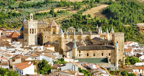 El Monasterio de Guadalupe de la ciudad cacereña.