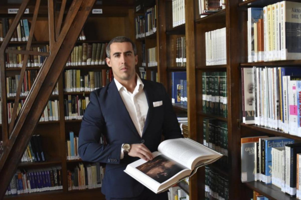 Manuel Ángel Cuenca López, coautor de 'Gestas de la Historia de España'.