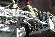 Los bomberos han actuado en este incendio
