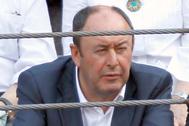 Luis Miguel Rodríguez, 'El chatarrero', en una  corrida de toros.