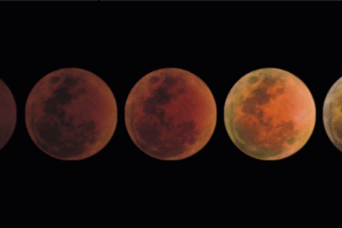 Escala de oscuridad de los eclipses lunares.