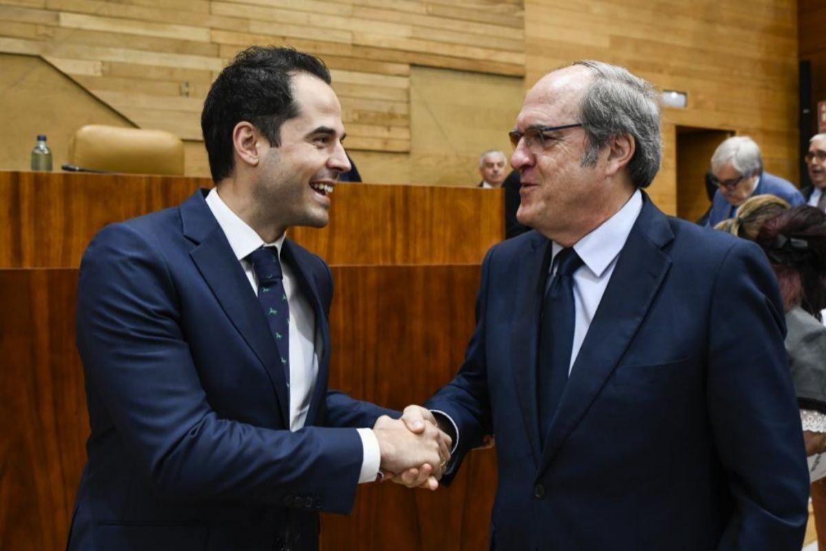 Ignacio Aguado y Ángel Gabilondo.