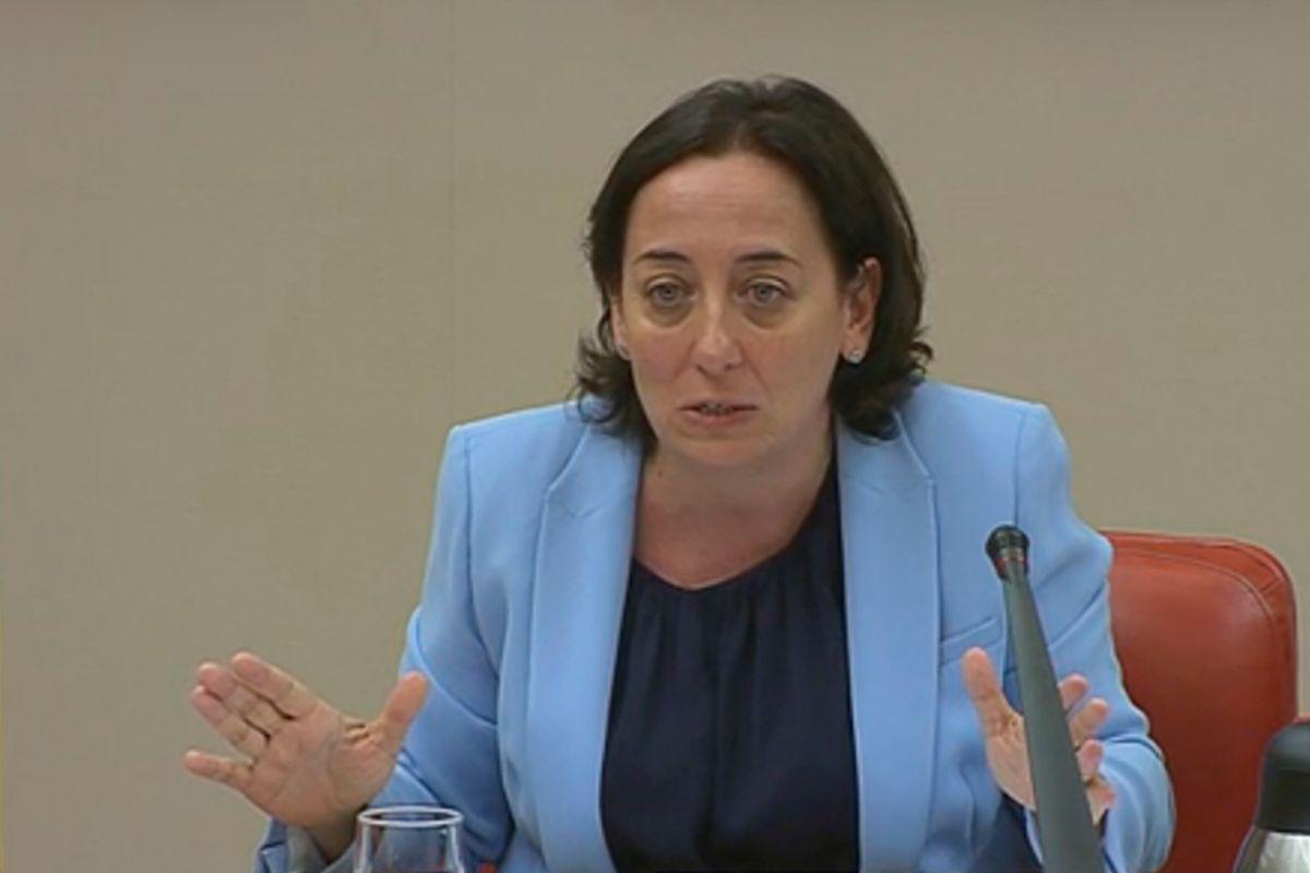 La jueza del juzgado número 51 de Madrid, Carmen Rodríguez-Medel.