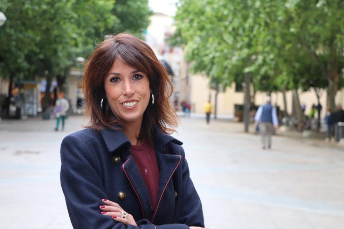 La diputada por Córdoba de Unidas Podemos Martina Velarde.