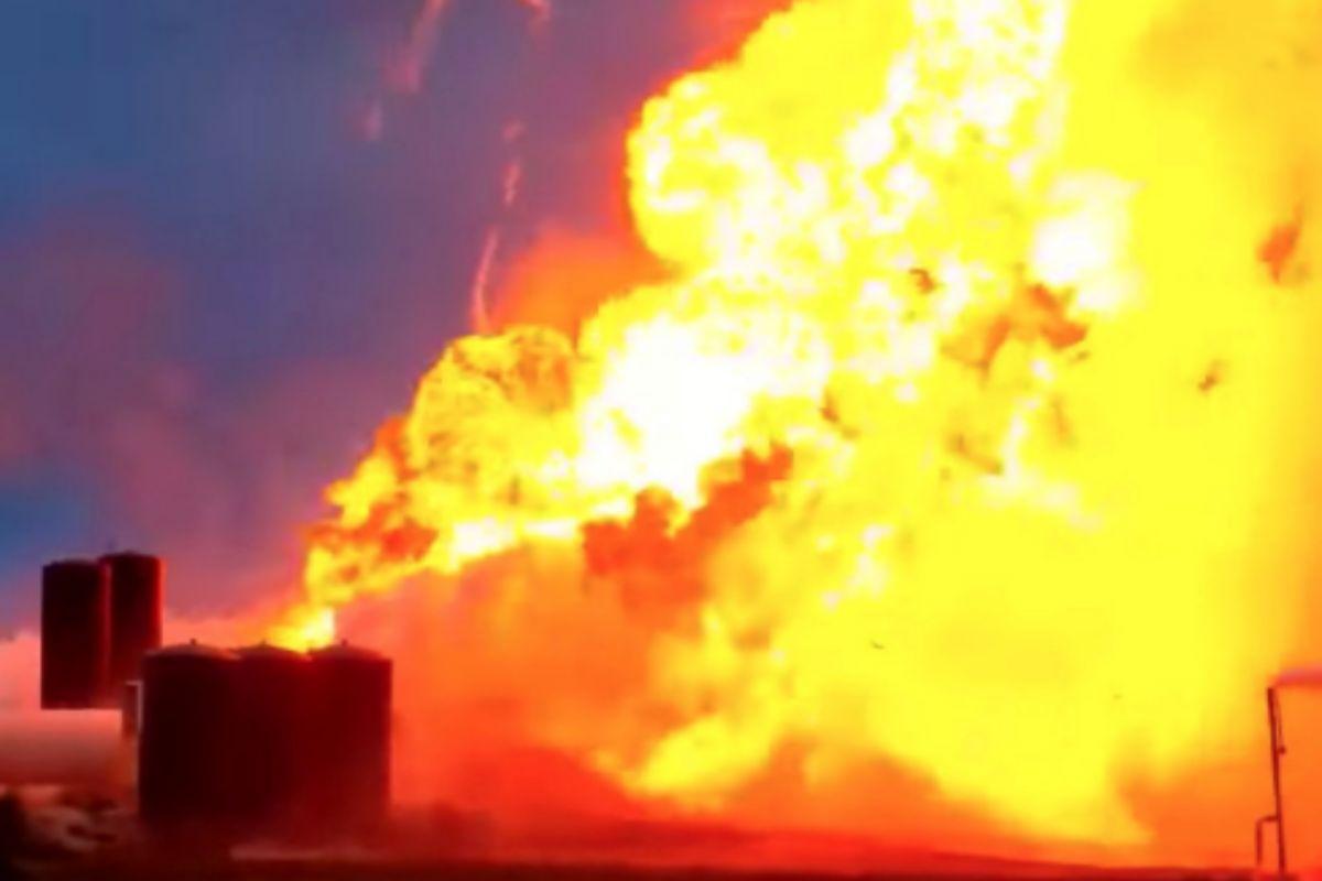 El prototipo del vehículo Starship de SpaceX hizo explosión ayer durante una prueba en Boca Chica, Texas