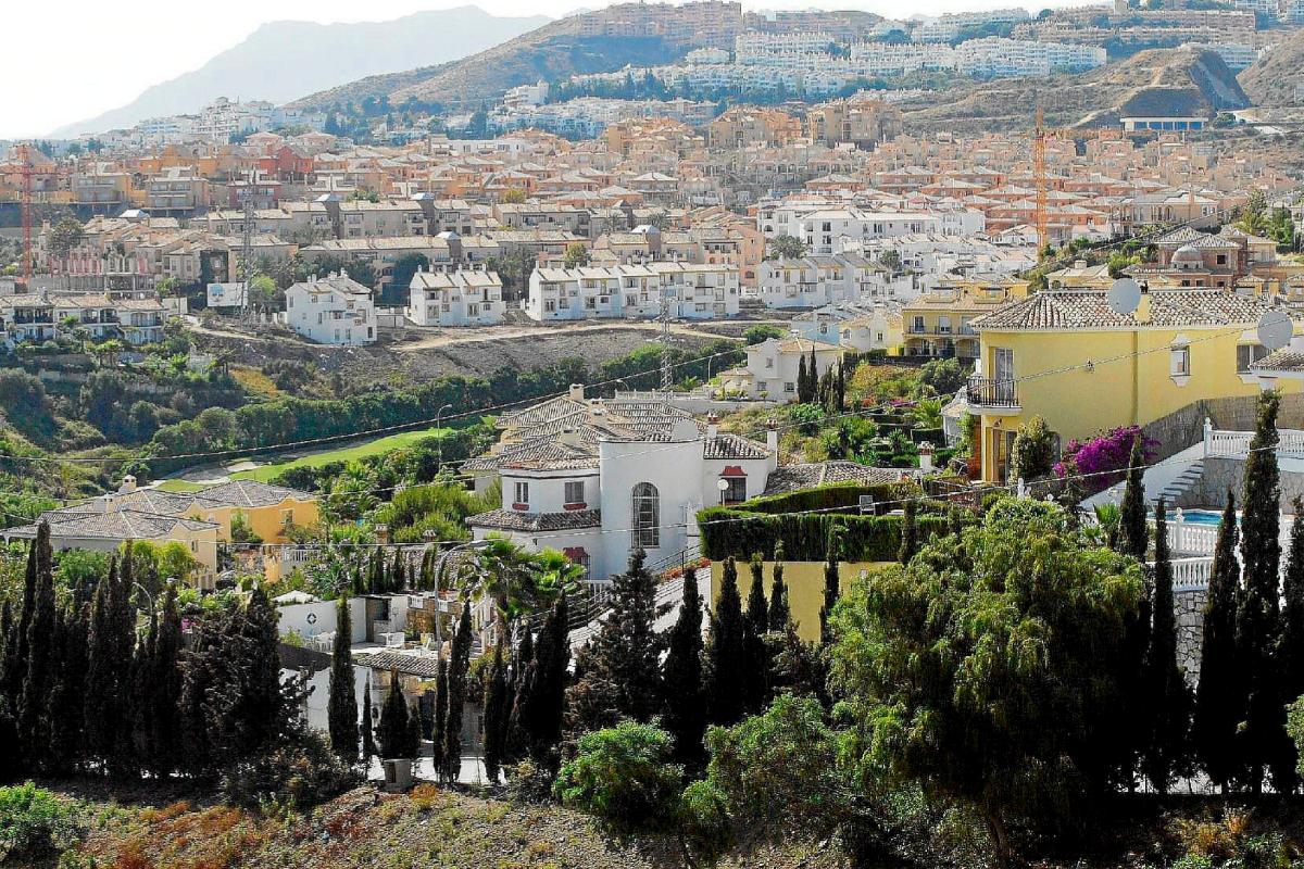 Vista de una urbanización en Marbella.