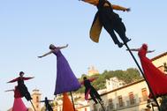 Una de las actividades del FEX en Plaza Nueva de Granada.
