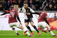 FILE PHOTO: Coppa Italia Semi Final First Leg - AC Milan v lt;HIT gt;Juventus lt;/HIT gt;