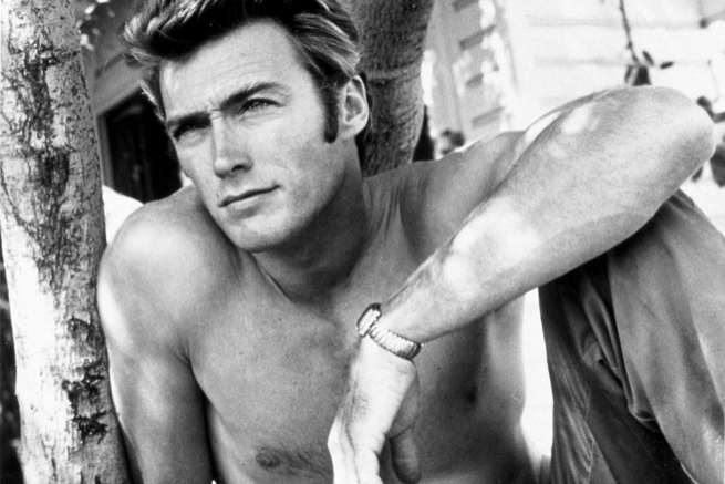 Clint Eastwood (San Francisco, 1930), en 1955.