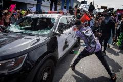 Un muerto en Indianápolis  durante las protestas raciales, mientras se impone el toque de queda en varias ciudades