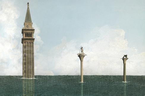 Historia de la muerte de Venecia, desde Napoleón hasta el carnaval