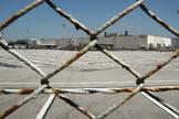 Párking vacío de la fábrica de Nissan en Barcelona después de que la empresa comunicara el cese de actividad