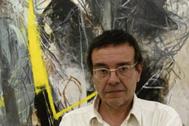 El pintor Xavier Grau.