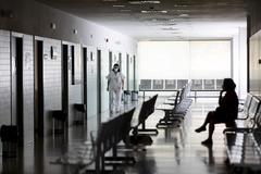 NO UTILIZAR SIN CONSULTAR CON FOTOGRAFIA. Alberto lt;HIT gt;Di lt;/HIT gt; lt;HIT gt;Lolli lt;/HIT gt;. 28/5/2020, Madrid. CRISIS DEL CORONAVIRUS. Centro de salud de Rejas. Atencion primaria tras el coronavirus