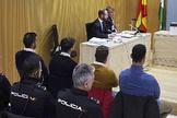 Llegada de los acusados a los juzgados de Córdoba, durante el juicio, en noviembre del año pasado.