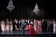 Producción de 'La Traviata' del Teatro Real.