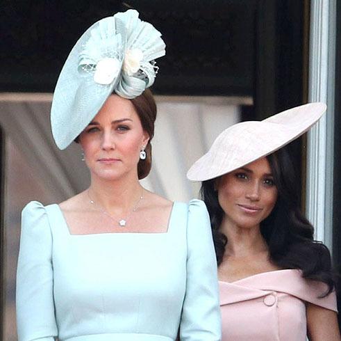 Las británicas eligen a Kate Middleton como la más cool y relegan a Meghan Markle al puesto 15