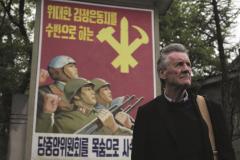 Michael Palin, en las calles de Pyongyang.