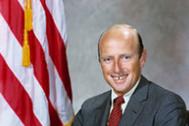 Pete Conrad, en una foto oficial de la Nasa.