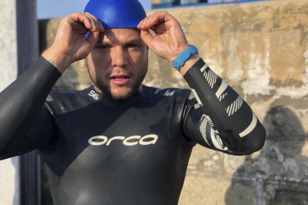 Ignacio Dean nadó 2.500 kilómetros durante su entrenamiento para entrenarse para la Expedición Nemo