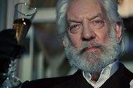 Donald Sutherland, en la versión cinematográfica de 'Los juegos del hambre'.