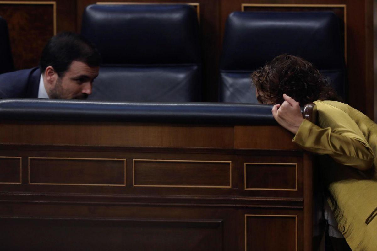 El diálogo con Ciudadanos abre fisuras en Unidas Podemos: Alberto Garzón abre la puerta y Pablo Iglesias apuesta por los nacionalistas
