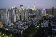 Un barrio residencial de Shenzhen, en el sur de China.